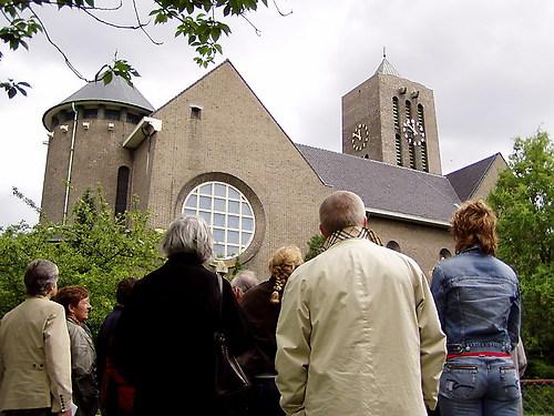 Excursie langs gebouwen van Boosten in Parkstad Limburg