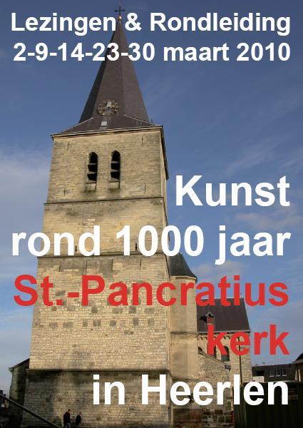 Lezing Kunst rond 1000 jaar St.-Pancratiuskerk in Heerlen