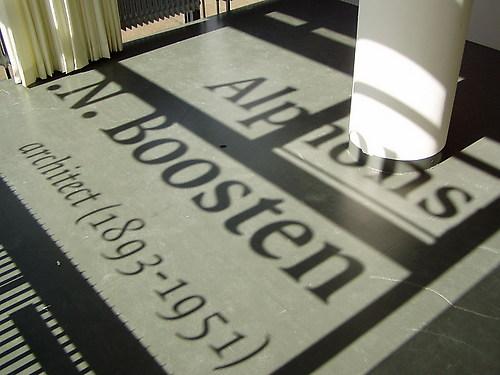 Tentoonstelling Alphons J. N. Boosten (1893-1951), architect
