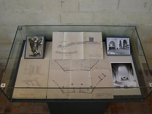 Tentoonstelling bij symposium Kerkbouw na 1945